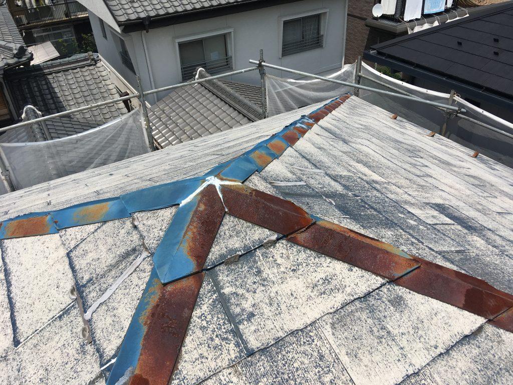屋根塗装 劣化激しい カラーベスト